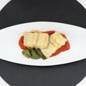 bacalao frito plato elaborado