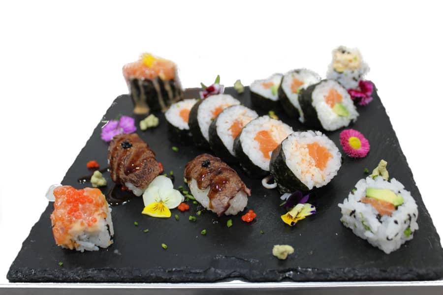 Bandeja sushi rolls maki - Xepep!