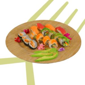 Sushi Veggie and fish