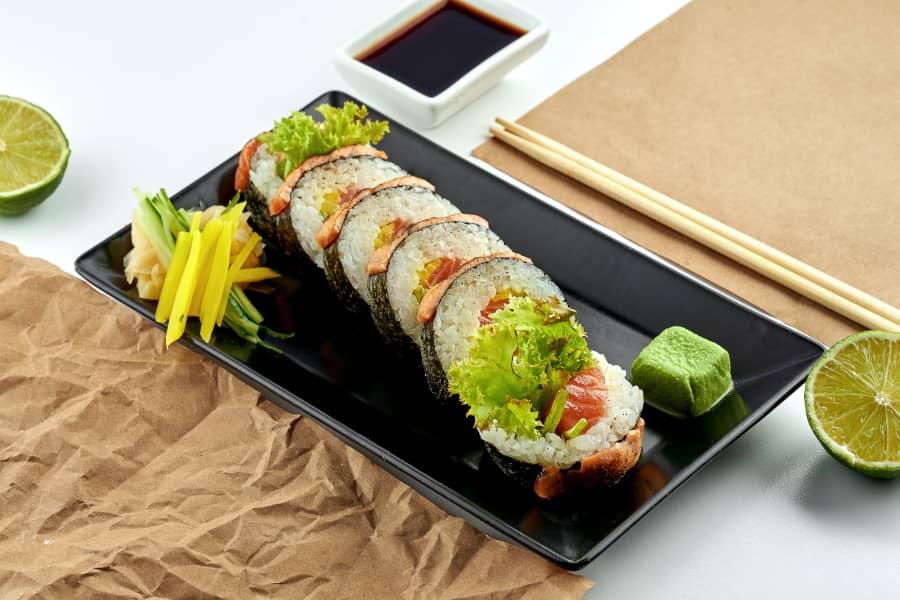 El mejor sushi en Aspe - Futomaki