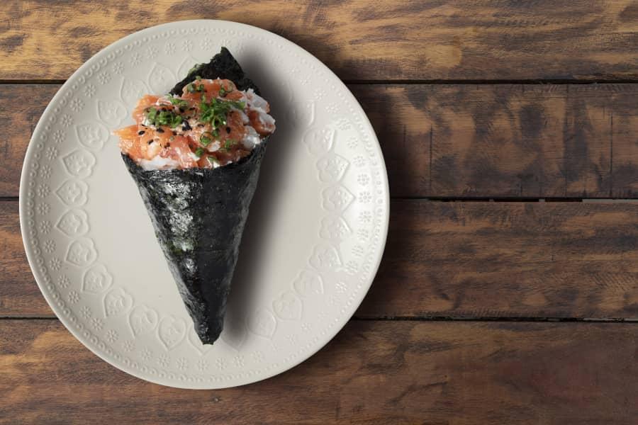 Temaki - Cómo preparar sushi