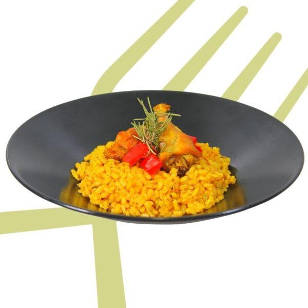 arroz y conejo