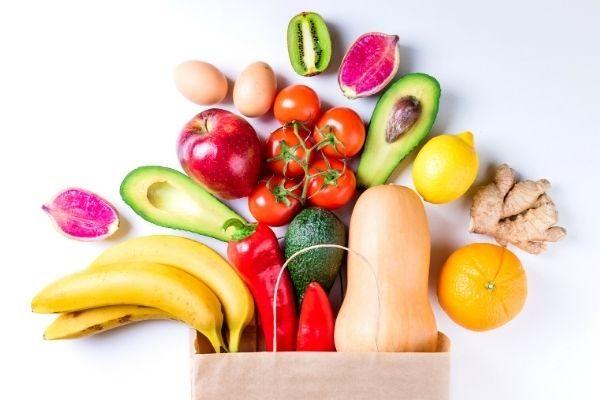 bodegón fruta y verdura